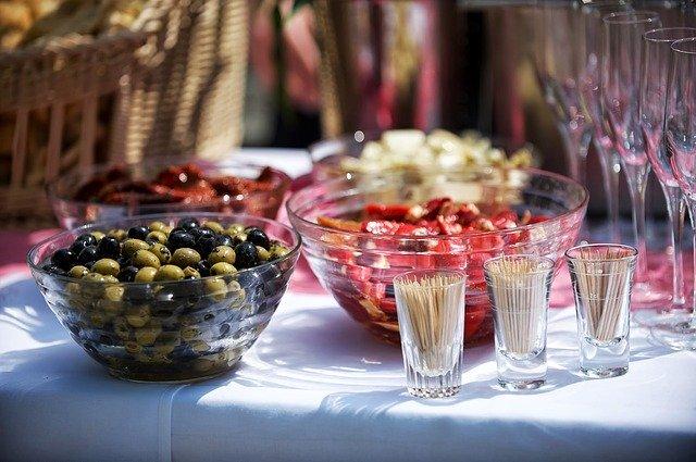 Le scelte in tema culinario per un matrimonio